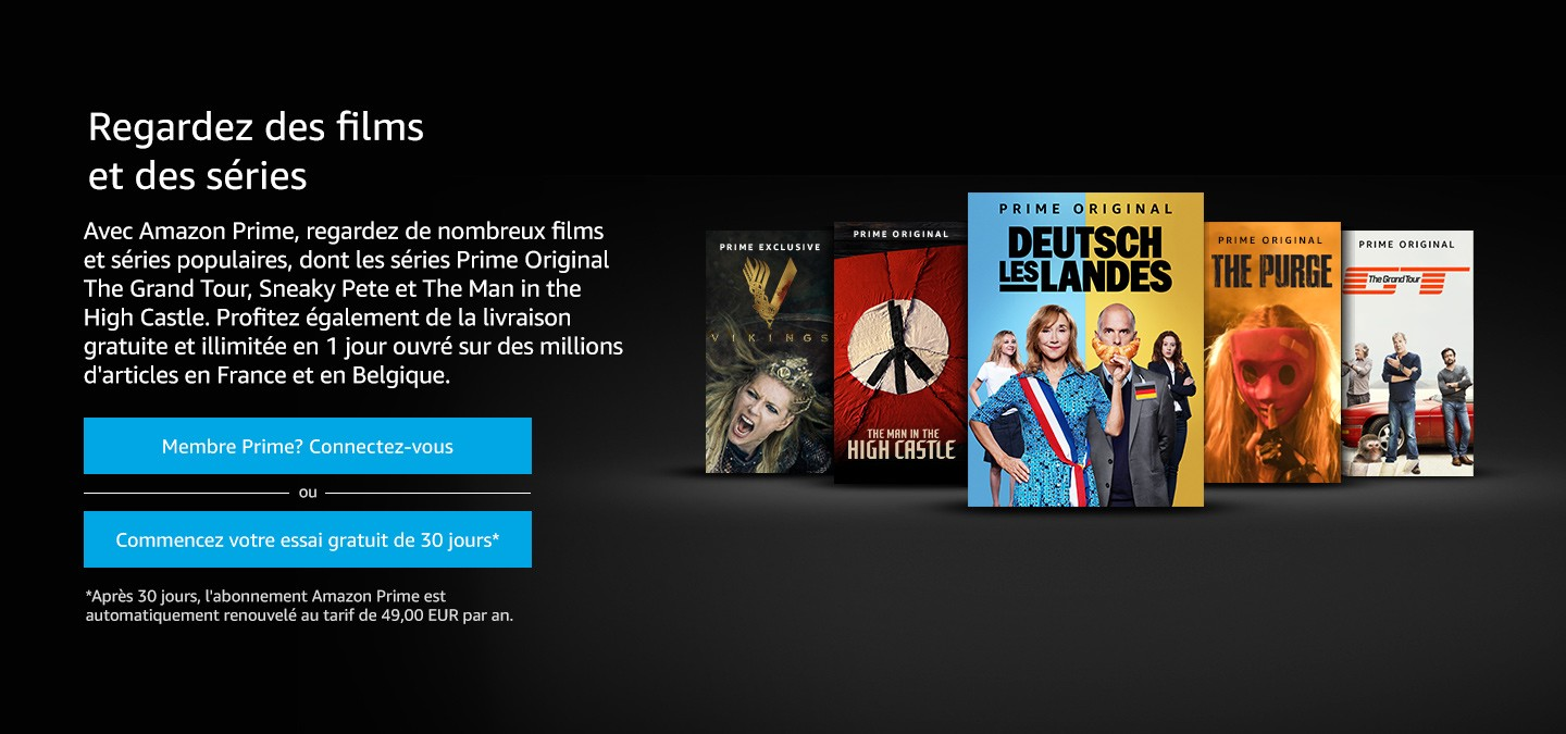 Amazon Prime Vidéo : Que vaut le Netflix made in Amazon ?