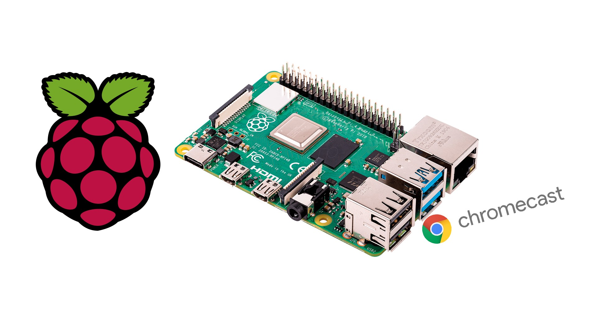 Transformer un Raspberry Pi en Chromecast bientôt possible !
