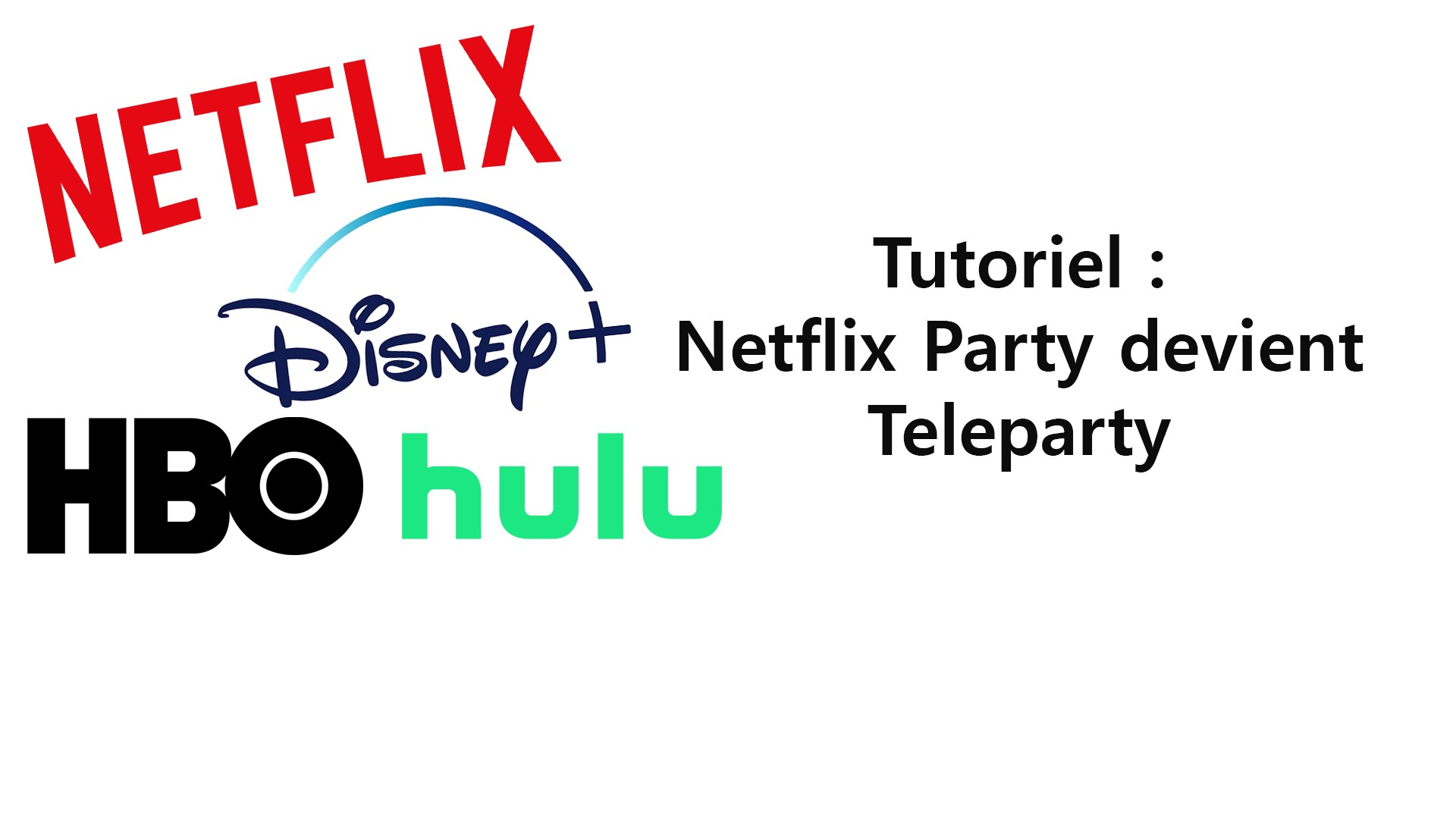 Tutoriel : Netflix Party devient Teleparty !